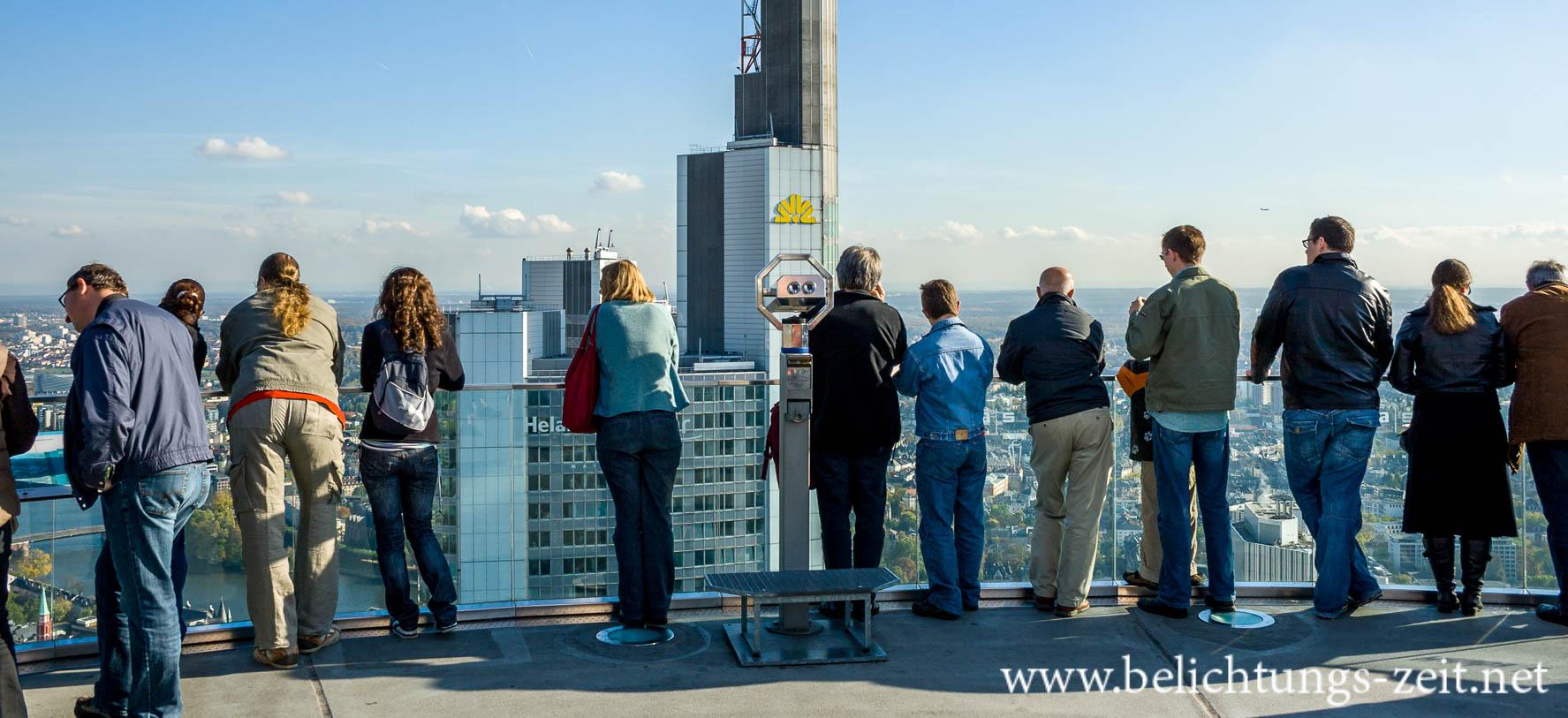 Looking at Frankfurt
